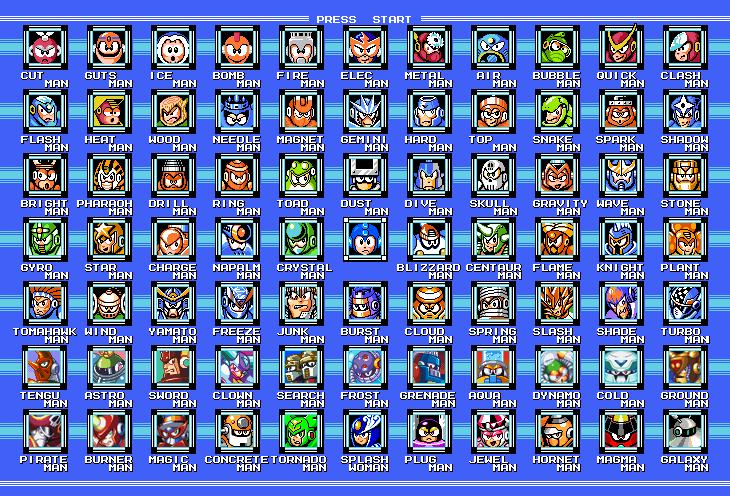 Mega Man RTA Leaderboards